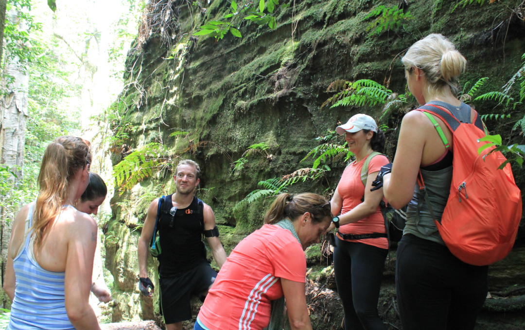 fitVenture_Gallery_chat with the Trainer_Grand Canyon